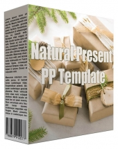 Natural Present Multipurpose Powerpoint Template Private Label Rights