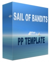 Sail Of Bandits Multipurpose Powerpoint Template Private Label Rights