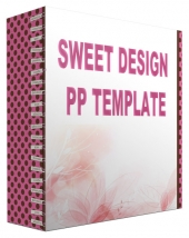 Sweet Design Multipurpose Powerpoint Template Private Label Rights