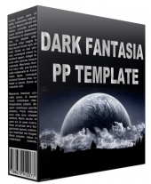 Dark Fantasia Power Point Template Private Label Rights