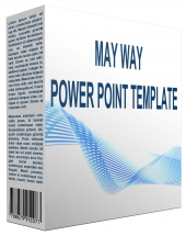 MayWay Multipurpose Powerpoint Template Private Label Rights