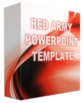 Red Army Multipurpose Powerpoint Template Private Label Rights