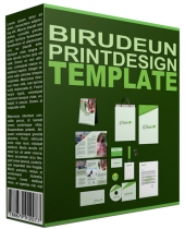 Birudeun Print Design Template Private Label Rights