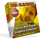Web Elements Deluxe Web Design Graphics Collection Private Label Rights
