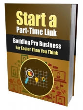 Start a Part-Time Link Building Pro Business Private Label Rights