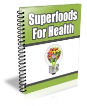 Superfoods For Health Private Label Rights