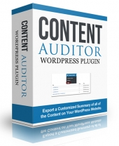 Content Auditor WordPress Plugin Private Label Rights