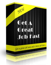 Get A Great Job Fast Private Label Rights