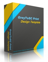 GreyToSC Print Design Template Private Label Rights