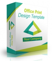 Office Print Design Template Private Label Rights