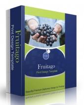 Fruitago Print Design Template