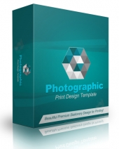 Photographic Print Design Template Private Label Rights