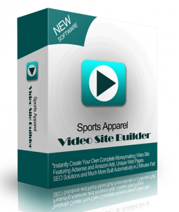 Sports Apparel Video Site Builder