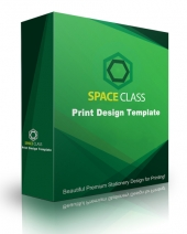Space Class Print Design Template Private Label Rights