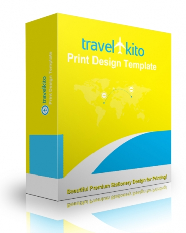 Travel Kito Print Design Template