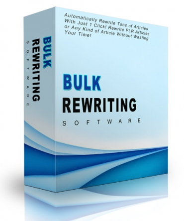 Bulk Rewriting Software