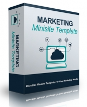Marketing Minisite Template V91416 Private Label Rights