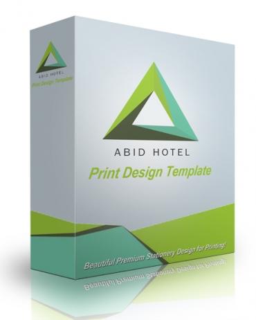 Abid Print Design Template
