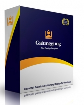 Galunggung Print Design Template Private Label Rights