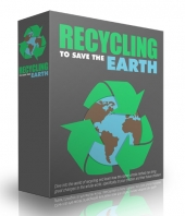 Recycling to Save the Earth Private Label Rights