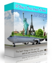 101 Ways to Travel Around The World for Cheap Private Label Rights