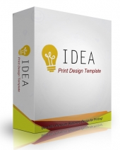 Idea Print Design Template Private Label Rights