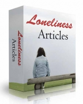 10 Loneliness Articles Private Label Rights