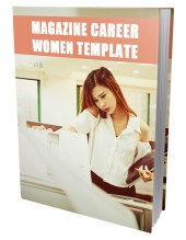Career Women Ebook Template Private Label Rights