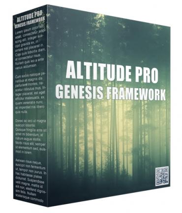 Altitude Pro Genesis FrameWork