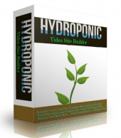 Hydroponics Video Site Builder Private Label Rights