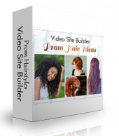 Prom Hairstyles Video Site Builder Private Label Rights