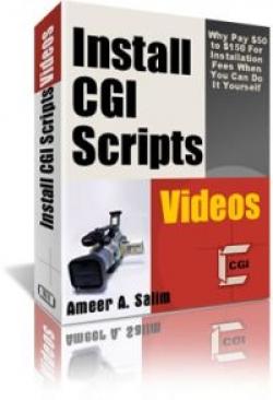 Install CGI Scripts Videos Report