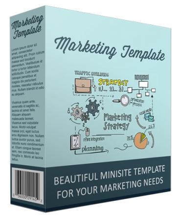 Marketing Minisite Template V111016