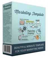 Marketing Minisite Template V111016 Private Label Rights