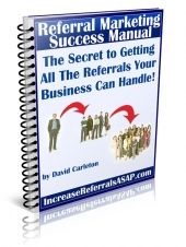 Referral Marketing Success Manual Private Label Rights