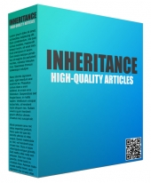 10 Inheritance Articles Private Label Rights