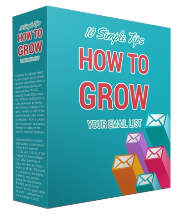 Growing An Email List