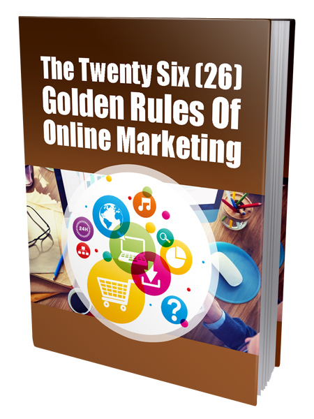 Golden Rules Of Online Marketing