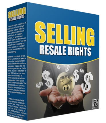Selling Resale Rights