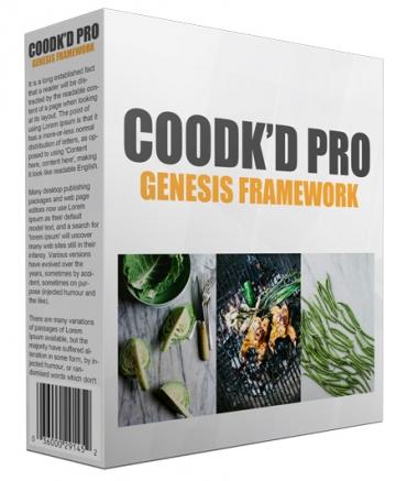 Cookd Pro Genesis  FrameWork