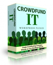 Crowdfund It Premium WordPress Plugin Private Label Rights