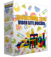 Educational Toys Video Site Builder Private Label Rights