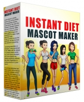 Instant Diet Mascot Maker Private Label Rights
