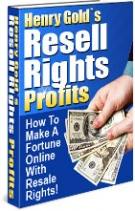 Resell Rights Profits Private Label Rights