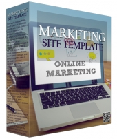Marketing Site Template V1216 Private Label Rights
