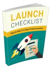 Launch Checklist Private Label Rights