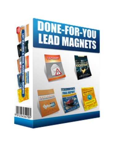 Done-For-You Lead Magnet
