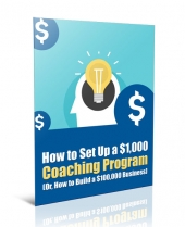 Set Up a Coaching Program Private Label Rights
