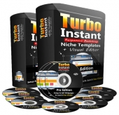 Turbo Instant Niche Templates Pro Private Label Rights