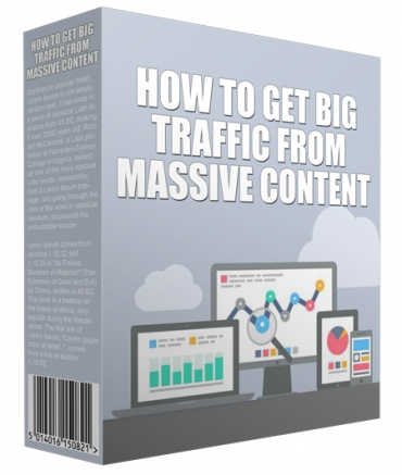 How To Get Big Traffic From Massive Content